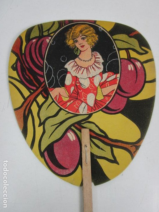 Antigüedades: Pay Pay Art Decó -Abanicos Publicidad Pastes Alimenticies i Forn de Pa, Josefa Coromines, Granollers - Foto 7 - 198979952