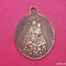 Antigüedades: MEDALLA SIGLO XIX VIRGEN DE LA VICTORIA PATRONA DE MÁLAGA. MUY RARA.. Lote 199069298