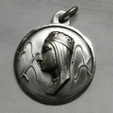 Antigüedades: VIRGEN DE MONTSERRAT JUBLILAEUM 2006 MEDALLA DE PLATA. MED. 3 CM. Lote 199086556