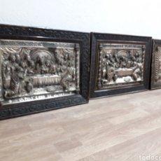 Antigüedades: LOTE DE 3 SANTA CENA EN BUEN ESTADO. Lote 199103190