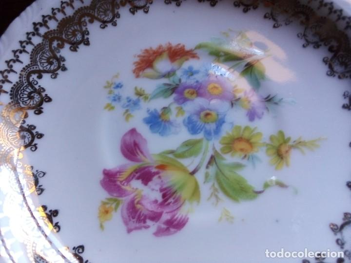 Antigüedades: Platos esmaltados Santa Clara. 4 unidades. - Foto 2 - 199123803