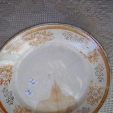 Antigüedades: PLATO SAN CLAUDIO OVIEDO .DIBUJOS REFLEJOS. Lote 199139642