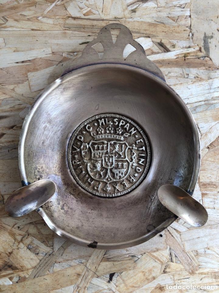 CENICERO DE LATÓN (Antigüedades - Hogar y Decoración - Ceniceros Antiguos)