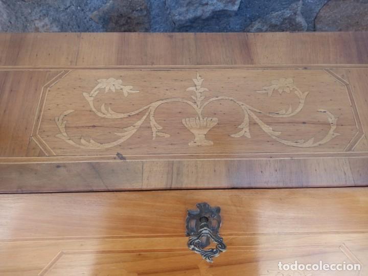 Antigüedades: antiguo escritorio estilo luis xv - Foto 8 - 199149592