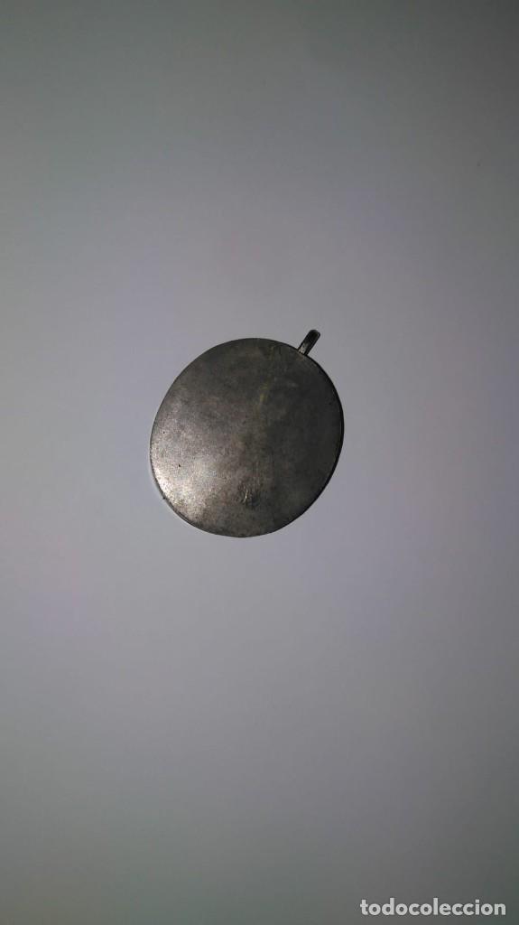 Antigüedades: RELICARIO ovalado con fragmentos óseos (ósibus). Original. Segunda mitad S. XVIII - Foto 5 - 168078404