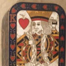 Antigüedades: CAJA BRONCE DE CARTAS AÑO 60. Lote 199162687