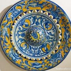 Antiquités: PLATO DE CERÁMICA DEL SIGLO XIX. Lote 199173008