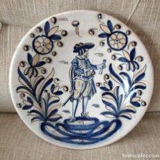 Antigüedades: ANTIGUO PLATO DE CERÁMICA DE TALAVERA. Lote 216574258