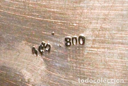 PLATILLO - .800 PLATA - ESPAÑA - PRIMERA MITAD DEL SIGLO XX (Antigüedades - Platería - Plata de Ley Antigua)