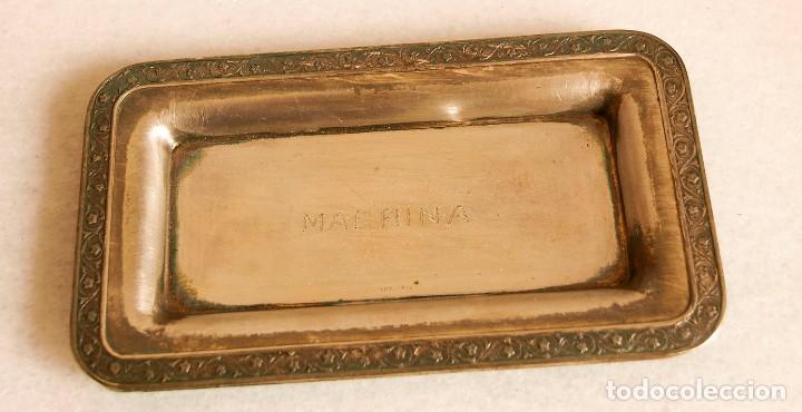 TARJETERO - .916 PLATA - ESPAÑA - PRIMERA MITAD DEL SIGLO XX (Antigüedades - Platería - Plata de Ley Antigua)