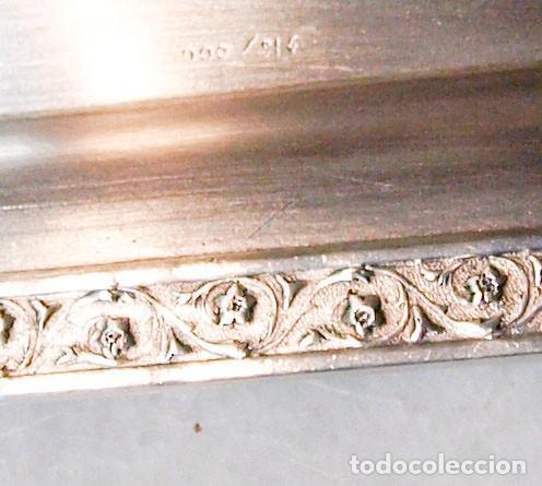 Antigüedades: Tarjetero - .916 plata - España - Primera mitad del Siglo XX - Foto 3 - 199274003