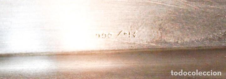 Antigüedades: Tarjetero - .916 plata - España - Primera mitad del Siglo XX - Foto 4 - 199274003