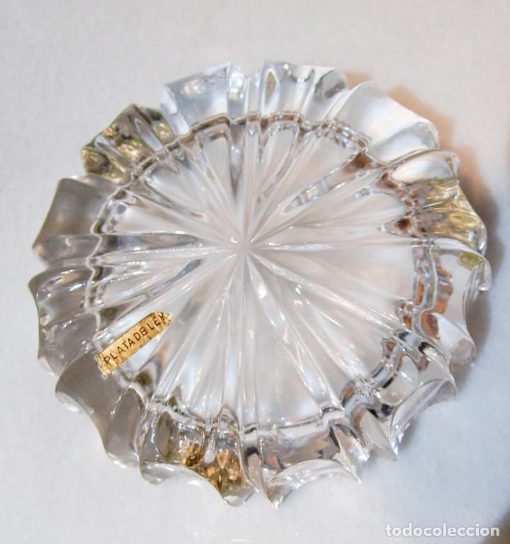 Antigüedades: Cenicero - Cristal de Roca y Plata - España - Primera mitad del Siglo XX - Foto 8 - 199274967