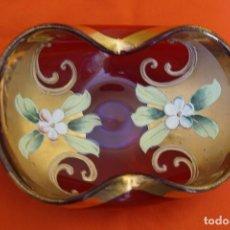 Antigüedades: BANDEJA DE CRISTAL . Lote 199278508
