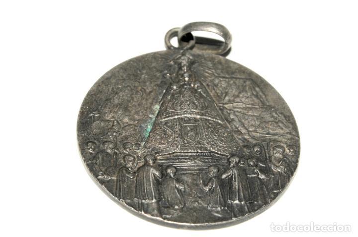Antigüedades: LOTE DE 4 MEDALLAS DE PLATA DE MONTSERRAT - Foto 4 - 199279618