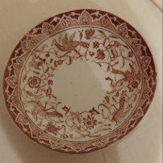 Antigüedades: PLATO DE CAFÉ CHOISY LE ROI. MARCA HB Y CO. Lote 199346751