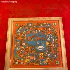 Antigüedades: TABLERO PARCHIS Y JUEGO DE LA OCA. Lote 199427937