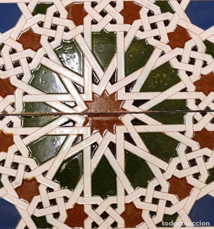 Antigüedades: Pareja Azulejos Antiguos Trianeros - Foto 2 - 199454925