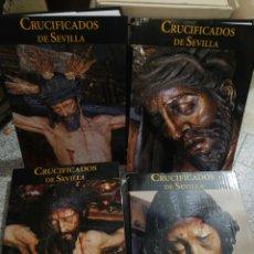 Antigüedades: CRUCIFICADO DE SEVILLA. 4 TOMOS. NUEVOS.. Lote 199463227