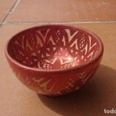 Antigüedades: GIMENO RIOS · MANISES · VALENCIA · BOL CON REFLEJOS METÁLICOS . Lote 199472836