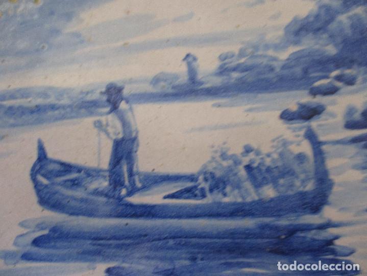 Antigüedades: Plato ceramica Triana Jose Macias - Foto 3 - 199513831