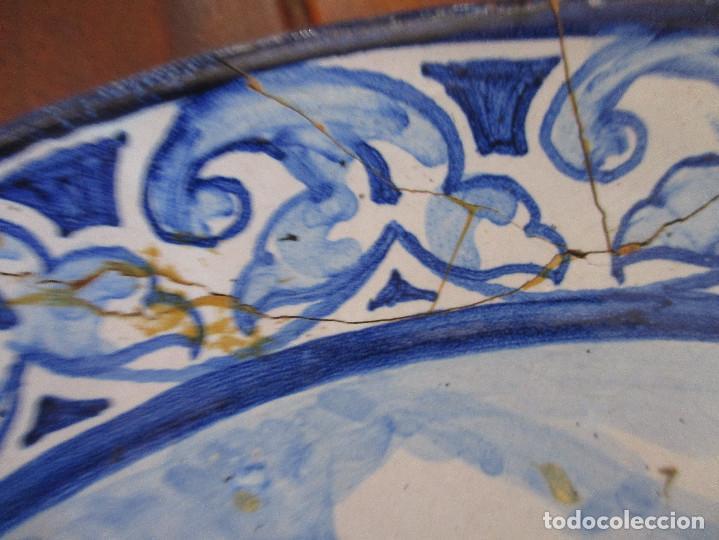 Antigüedades: Plato ceramica Triana Jose Macias - Foto 5 - 199513831