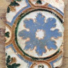 Antigüedades: MUY ANTIGUO AZULEJO - TOLEDO O TRIANA - LADRILLO DE ESTILO MUDÉJAR - COLECCIONISTAS - RARO. Lote 199521356