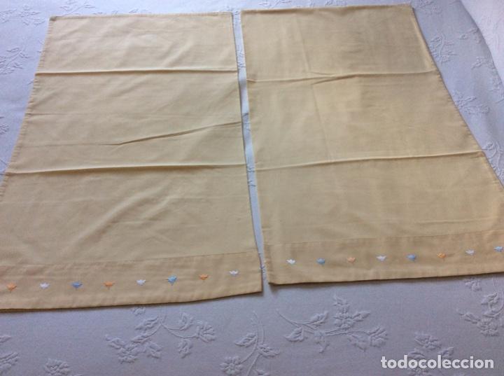 Antigüedades: Funda para edredón-nórdico de la marca Bassols para cama de 1.50/60. - Foto 10 - 176488889