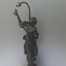 Antigüedades: ESCULTURA CALAMINA CH LEVY SEGUNDA MITAD DE 1800. Lote 183392458