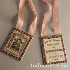 Antigüedades: ANTIGUO ESCAPULARIO. Lote 54059187