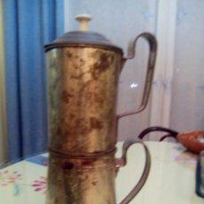 Antigüedades: CAFETERA MUY ANTIGUA SIGLO XIX MUY RARA DE CONSEGUIR. Lote 199632471