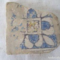 Antigüedades: AZULEJO VALENCIANO MUY ANTIGUO. Lote 199667862