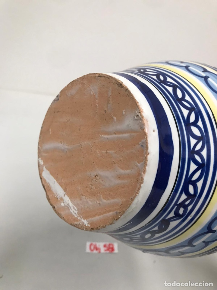 Antigüedades: Jarrón de Talavera - Foto 3 - 199667991