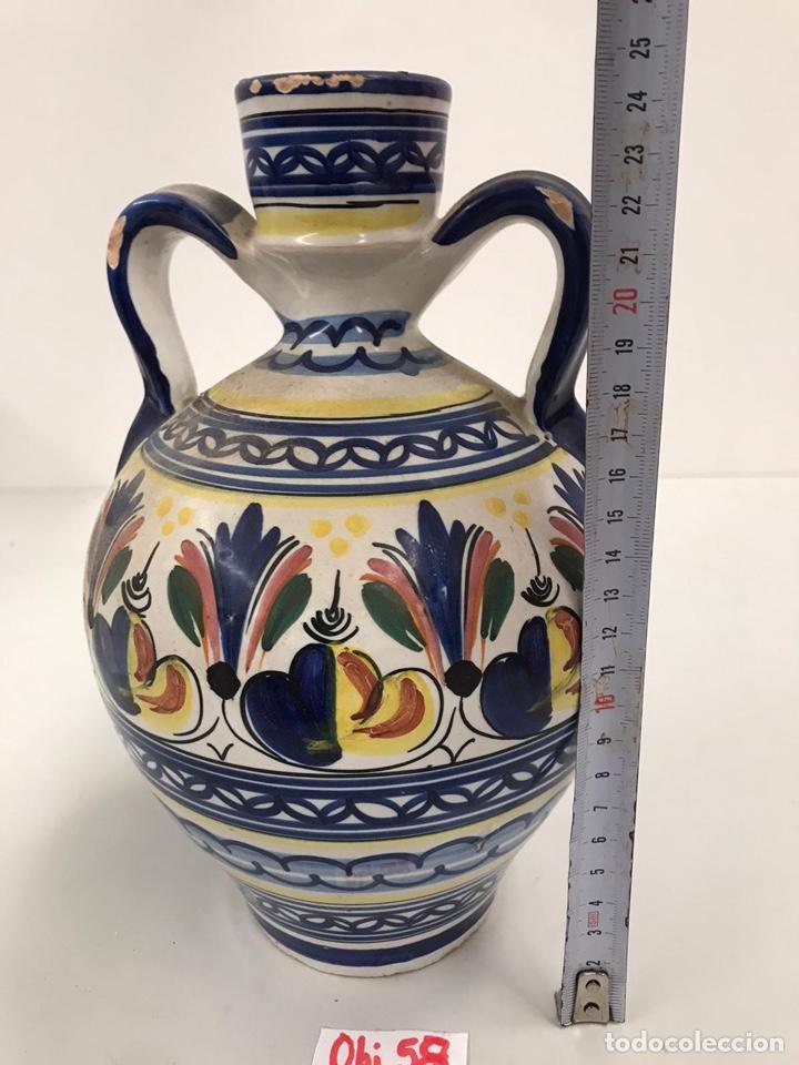 JARRÓN DE TALAVERA (Antigüedades - Porcelanas y Cerámicas - Talavera)