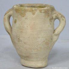 Antigüedades: ANTIGUA ORZA DE BARRO. SIGUIENDO MODELOS HISPANOMUSULMANES. Lote 199675448