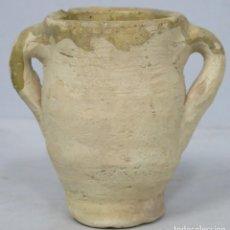 Antigüedades: ANTIGUA ORZA DE BARRO. SIGUIENDO MODELOS HISPANOMUSULMANES. Lote 199675467