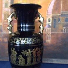 Antigüedades: FLORERO DE CERÁMICA GRIEGO I. SPYROPOULOS. Lote 199679561