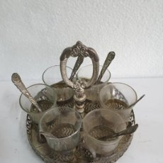 Antigüedades: JUEGO DE TE. Lote 199691391