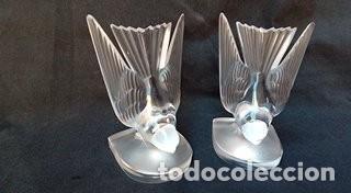 SUJETALIBROS LALIQUE-FRANCE (Antigüedades - Cristal y Vidrio - Lalique )