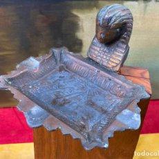 Antigüedades: PEQUEÑA BANDEJA EGIPCIA - DESCONOZCO EPOCA. Lote 199718901