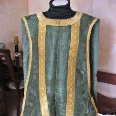 Antigüedades: ANTIGUA CASULLA SIGLO XIII -XIX. Lote 199741546
