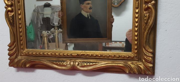 Antigüedades: Espejo madera tallada - Foto 2 - 199766316