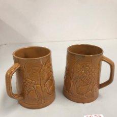 Antigüedades: JARRAS DE PORCELANA. Lote 199770468