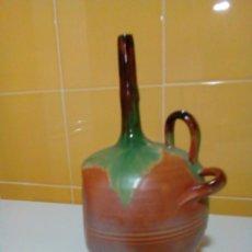 Antigüedades: JARRON DEFORME ARTESANIA TOTANERA. Lote 199783798