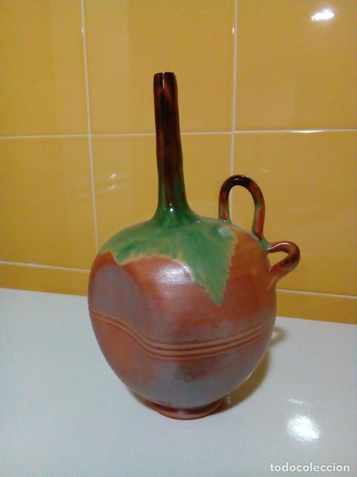 Antigüedades: jarron deforme artesania totanera - Foto 2 - 199783798