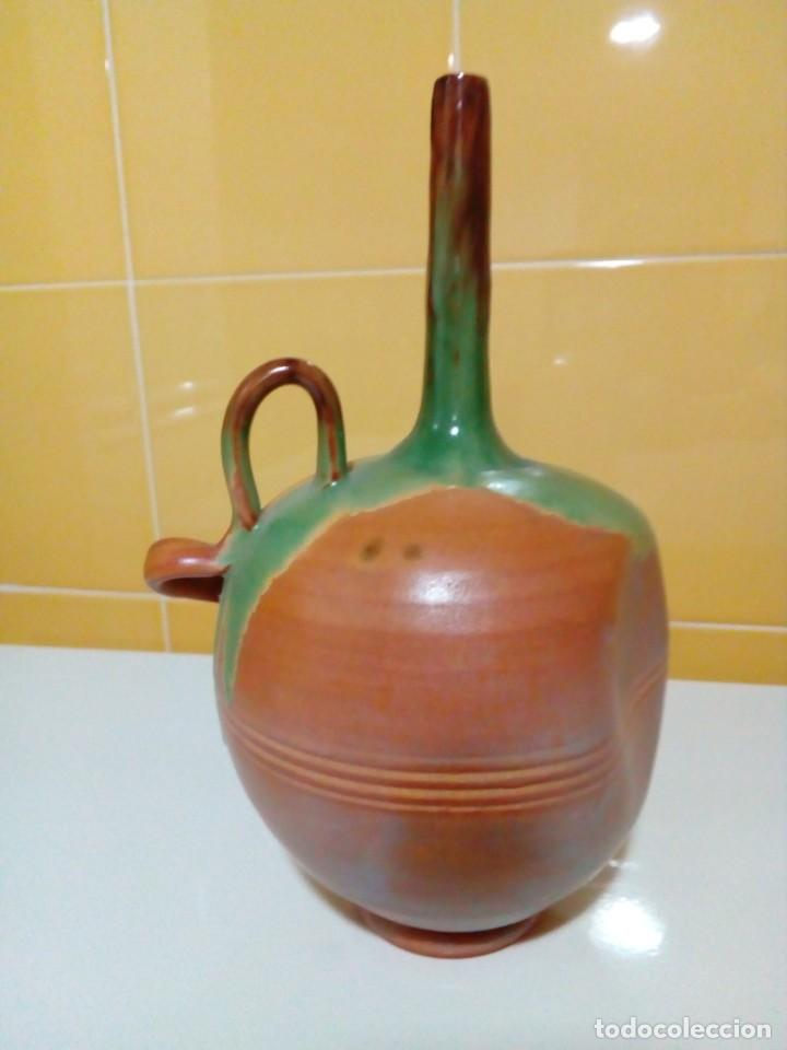 Antigüedades: jarron deforme artesania totanera - Foto 4 - 199783798