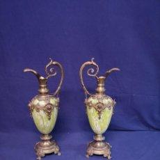 Antigüedades: PAREJA DE JARRAS FRANCESES. Lote 199819300
