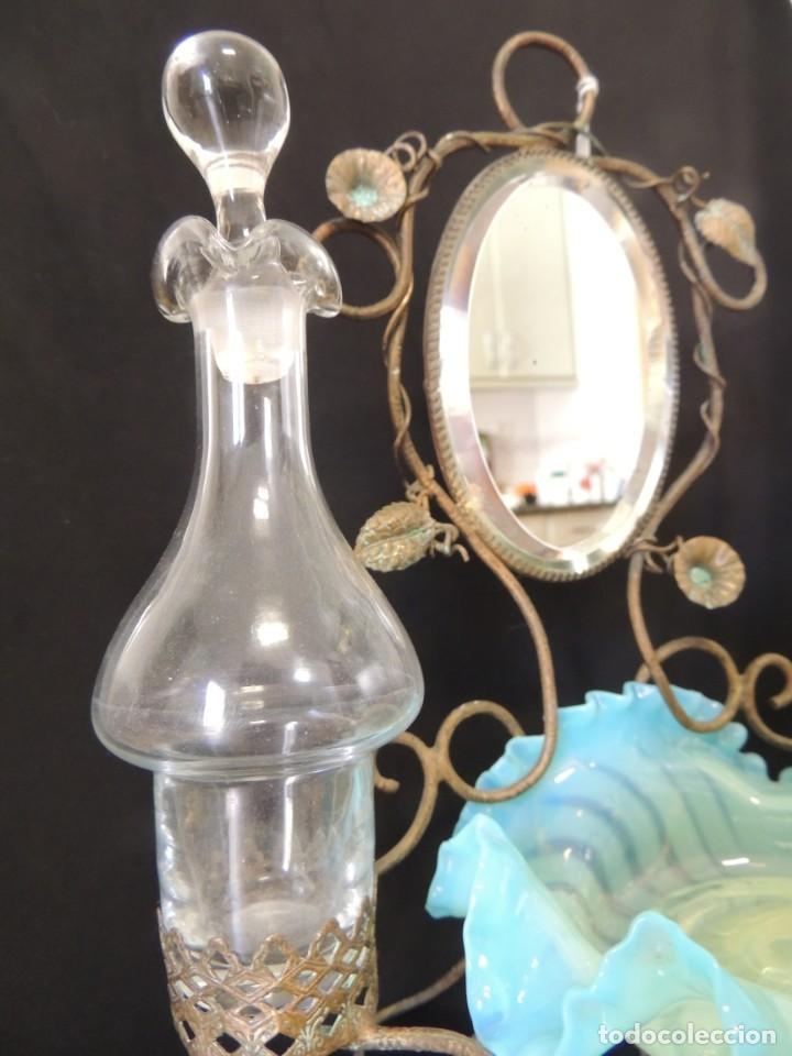Antigüedades: perfumero anillero 1900 - Foto 3 - 199843565