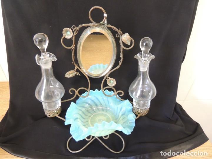 Antigüedades: perfumero anillero 1900 - Foto 4 - 199843565