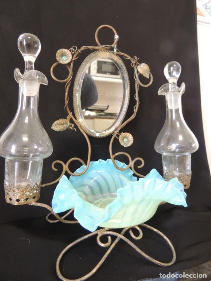 PERFUMERO ANILLERO 1900 (Antigüedades - Cristal y Vidrio - Otros)